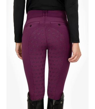 PS Of Sweden Mathilde Riding Tights Plum