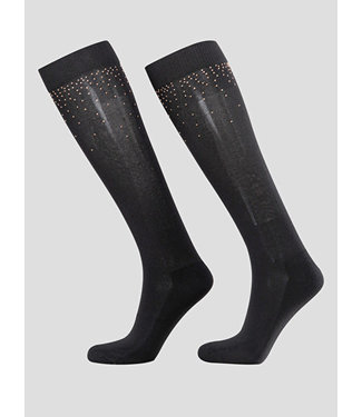 Equiline Socks With Micro Studs