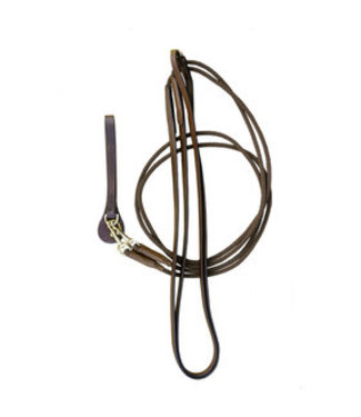Euroriding Draw Reins in Leather ER-40