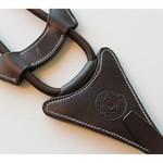 LJ Leathers Pro Selected Elastische Martingaalvork