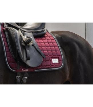 Equito Saddle Pad - Black Cherry