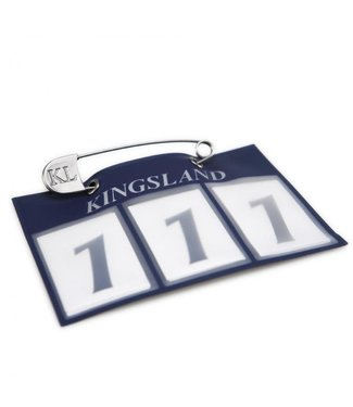 Kingsland Classic Number Plate