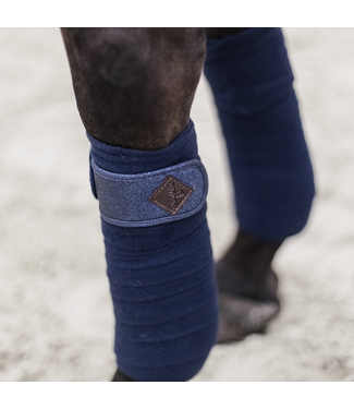 Kentucky Polar Fleece Glitter Bandages