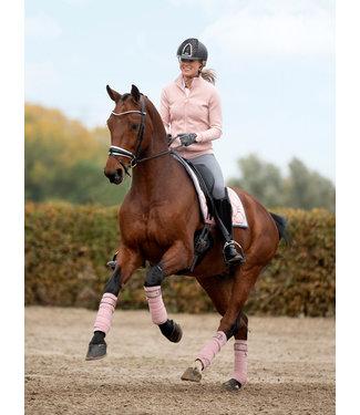 PS Of Sweden Dressage Saddle Pad Blush Monogram
