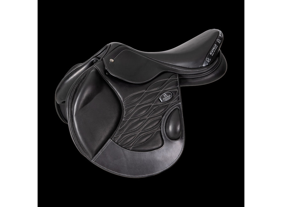 Giotto Cross Country Saddle - Mono Flap - Double Calf Leather