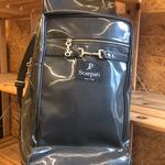 Anna Scarpati Boot Bag Otis, Marrone Scuro, Eco-Leather Marrone Scuro One Size
