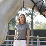 Equiline Leather Belt With Buckle Echilae
