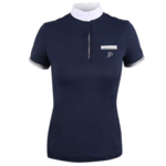 Anna Scarpati Flavia womans short sleeves competition polo