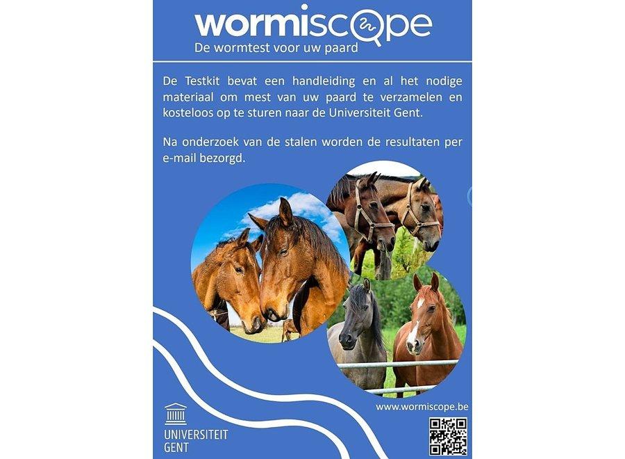 Testkit Paarden Maagdarmwormen