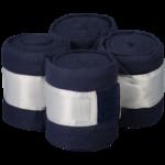 Equito Fleece bandages – Navy Shimmer
