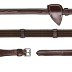 Dy on 5/8 (16mm) Web Reins With 9 Loops Hunter Collection