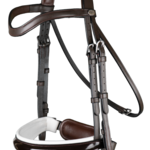 Dy on Large Crank Noseband Bridle With Flash