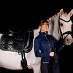 Equestrian Stockholm Saddle Pad No Boundaries Silver Cloud