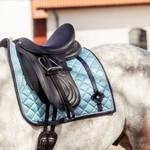 PS Of Sweden Dressage Saddle Pad Aqua Bow