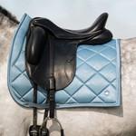 PS Of Sweden Dressage Saddle Pad Aqua Floret