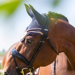 Equito Ear Bonnet Peony Pink Full
