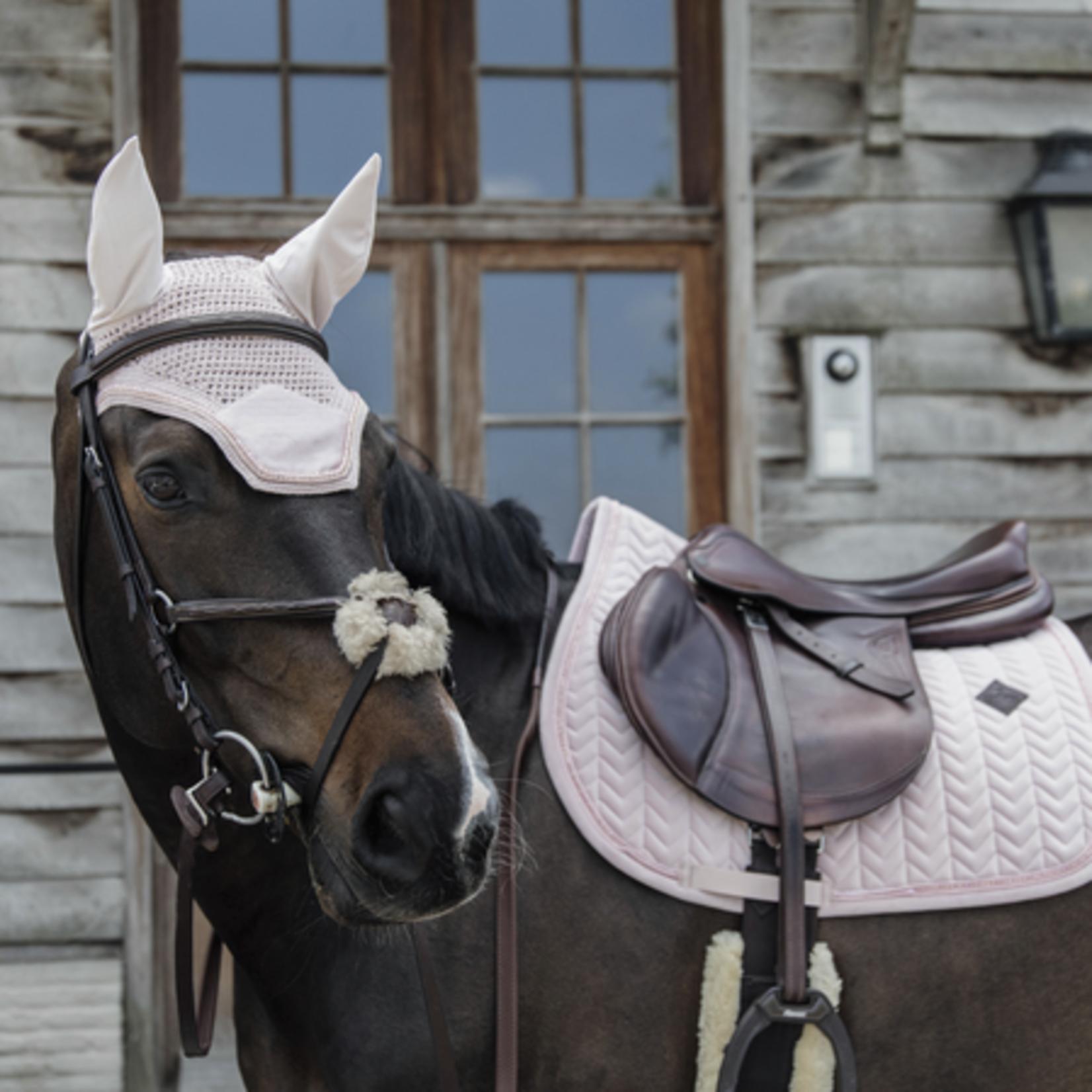 Kentucky Saddle Pad Velvet Pearls