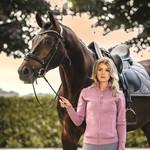 PS Of Sweden Floret Dressage Saddle Pad Grey