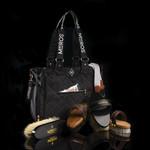 Mrs. Ros Grooming Bag Phantom Black