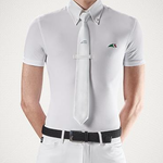 Equiline Men's Polo Competition S/S Fox