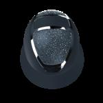Kask Star Lady Prestige Chrome Swarovski On The Rocks + Rivet Navy 2 (57-59)