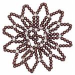 SD Design Pearl And Diamond Hairnet
