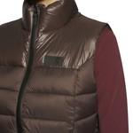 Cavalleria Toscana Women Padded Zip Vest Shiny/Matte