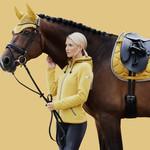 Eskadron Saddle Cloth Satin Contrast Classic Sports