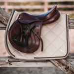 PS Of Sweden Saddle Pad Corduroy Latte