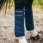 Equestrian Stockholm Fleece Polos Monaco Blue