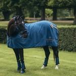 Equestrian Stockholm Fleece Rug Fur Monaco Blue