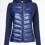 Tommy Hilfiger Equestrian Hooded Bodywarmer Jacket TH Style