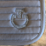 Cavalleria Toscana Elegant Embroidery Saddle Pad