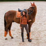 Equestrian Stockholm Saddle Pad Bronze Gold