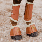 Equestrian Stockholm Leg Protection Bronze Gold