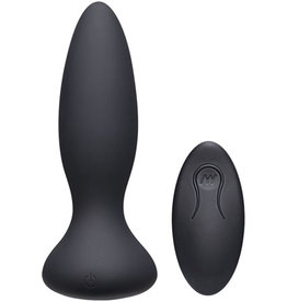 A-Play Thrust Adventurous Stotende Buttplug - Zwart