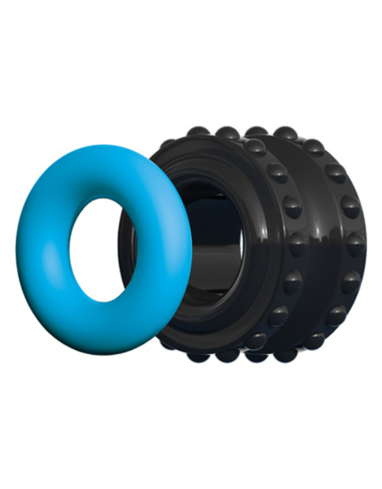 CONTROL by Sir Richard's Control Pro Performance Beginners Cockring - Blauw