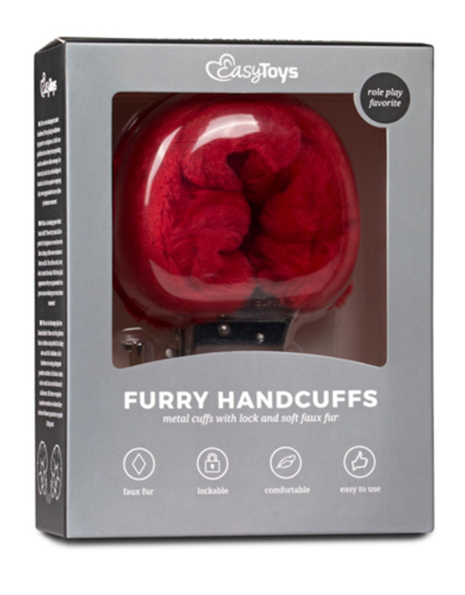 Easytoys Fetish Collection Bonten handboeien - rood