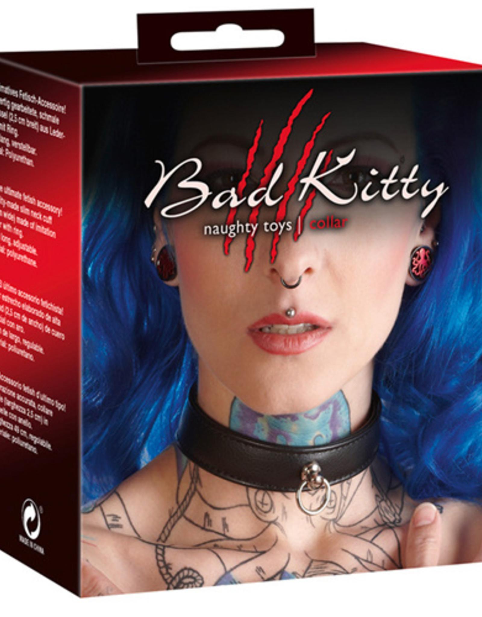 Bad Kitty Halsband - Zwart