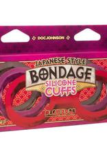 Japanese Bondage Japanese Bondage Siliconen Enkelboeien - Paars