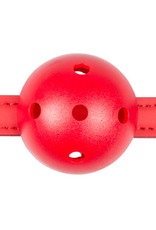 Easytoys Fetish Collection Ball gag met bal van PVC - rood