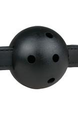 Easytoys Fetish Collection Ball gag met PVC bal - zwart