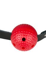 Fetish Collection Ball Gag - Zwart/Rood
