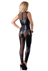 Cottelli Collection Catsuit Gaas en Wetlook