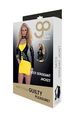 Guilty Pleasure GP Datex Sergeant Jasje - Zwart