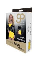 Guilty Pleasure GP Datex Mini Jurkje - Geel