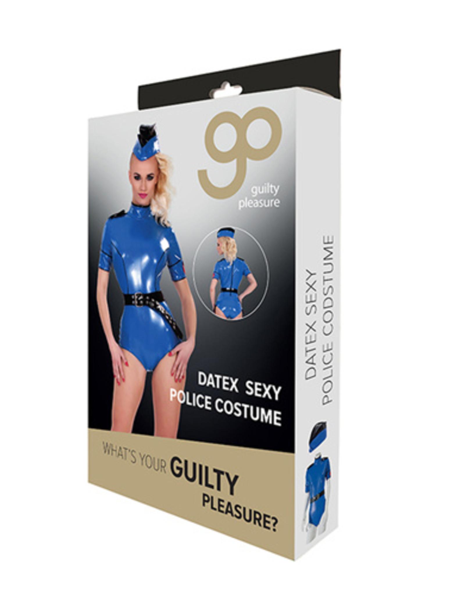 Guilty Pleasure GP Datex Politiekostuum - Blauw