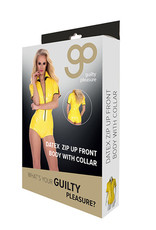 Guilty Pleasure GP Datex Body Met Rits - Geel