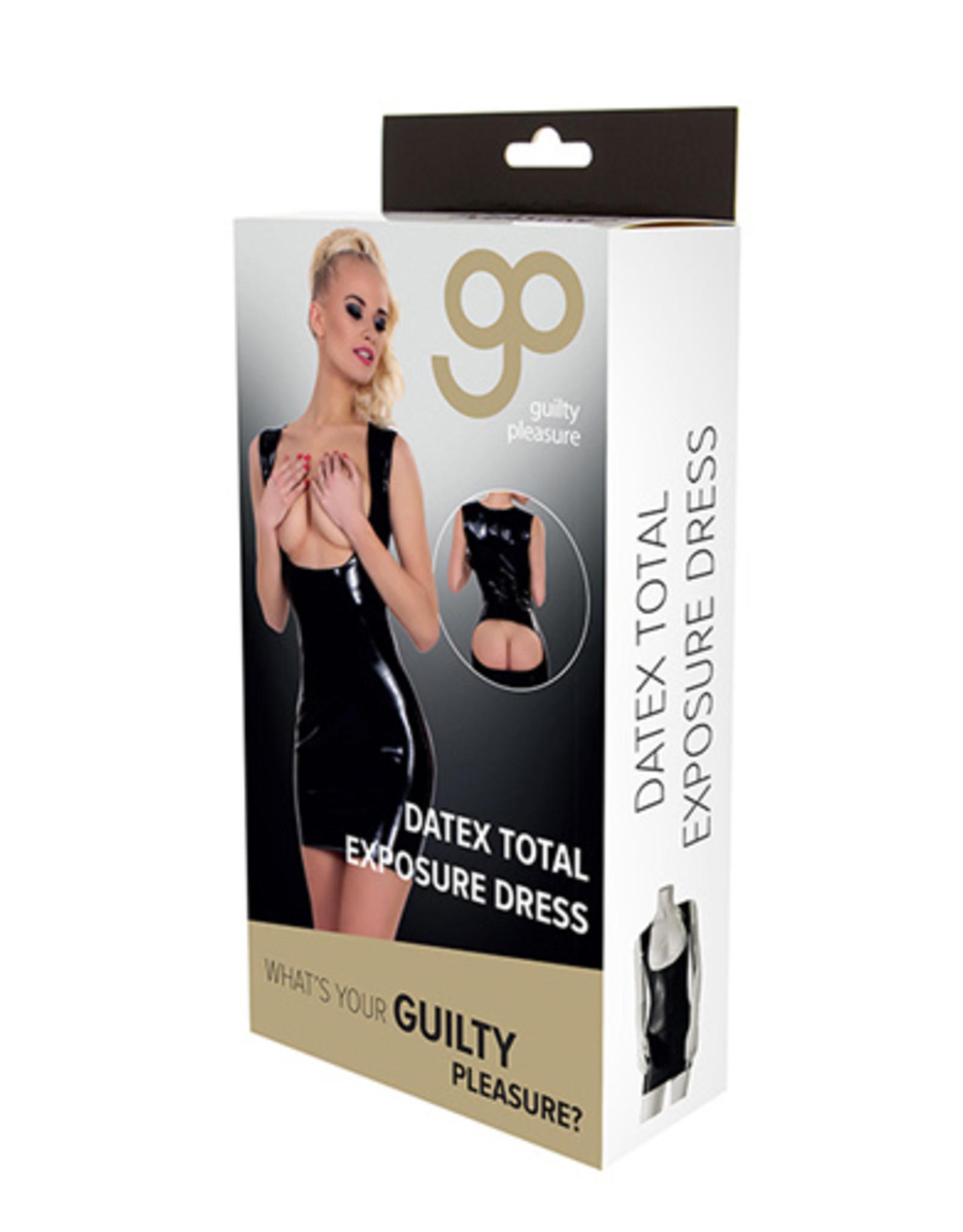 Guilty Pleasure GP Datex Mini Jurkje Met Openingen - Zwart