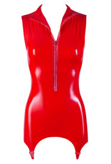 The Latex Collection Latex Jarreteltop - Rood